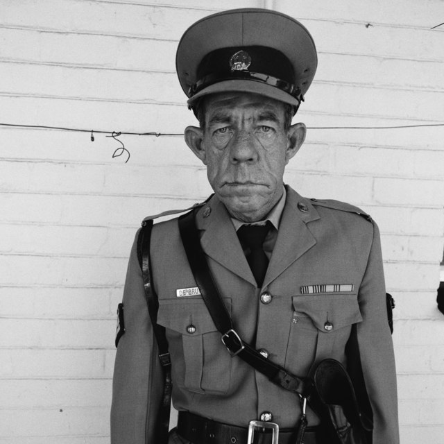 , 'Sgt F de Bruin, Dep of Prisons empl, OFS,' 1992, Willas Contemporary