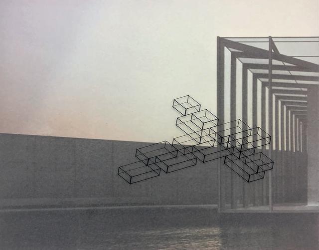, 'Diálogo inmaterial en un espacio de Tadao Ando XXII,' 2016, Diana Lowenstein Gallery