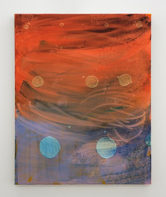 , 'Grid (white dot),' 2018, Hopkinson Mossman