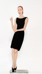 Ulla (Black Dress Cut-Out)
