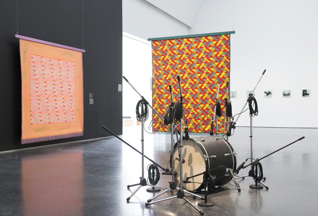 Installation view, The Freedom Principle: Experiments in Art and Music, 1965 to Now, MCA Chicago. July 11-November 22, 2015. Photo: Nathan Keay, © MCA Chicago.