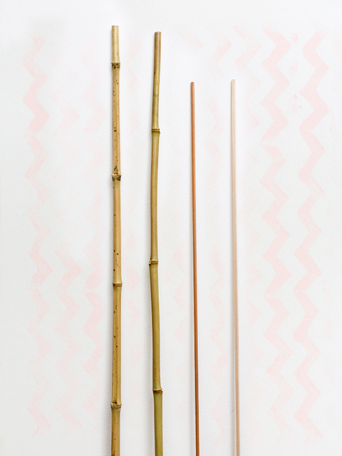 Juan Pablo Garza, 'Untitled with rods and zig zag', 2013, Diablo Rosso