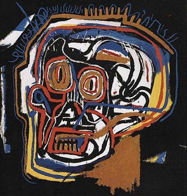 Jean-Michel Basquiat, 'Untitled (Head, from Portfolio I)', 1983, RUDOLF BUDJA GALLERY