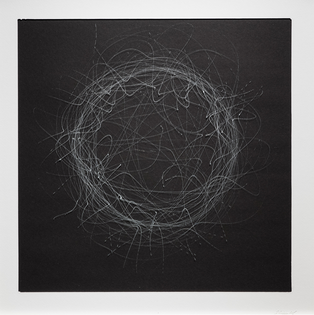 , 'CHAOS DRAWINGS #8,' 2017, Traver Gallery