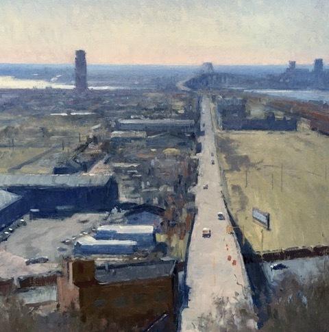 , 'Industrial Composition,' 2018, Helena Fox Fine Art