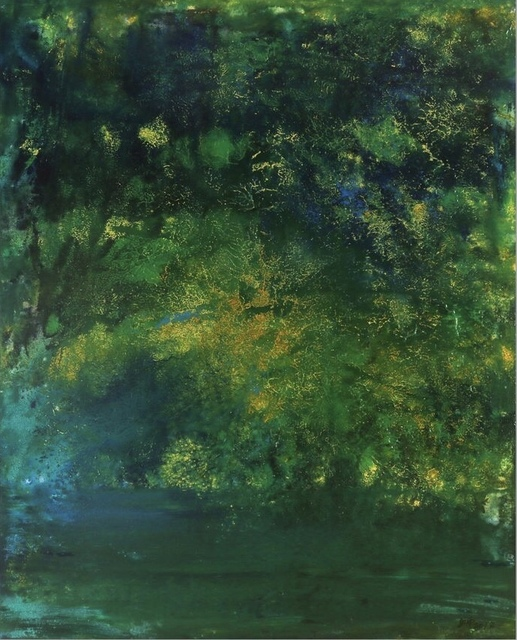 , 'Green, Air, Water No.4,' 2018, Tsubakiyama Gallery