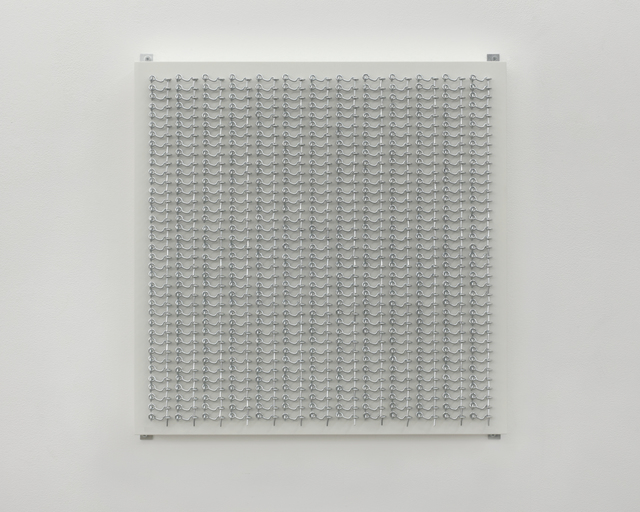 , 'OS WL 481 1XMV2 (hooks and eyes),' 2016, Charlie James Gallery