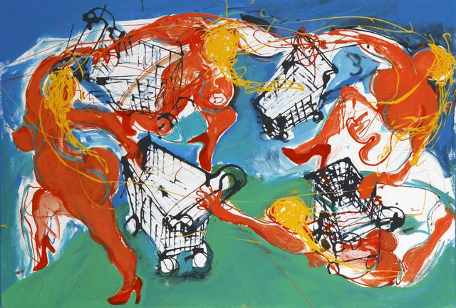 , 'Woogie,' 2018, Sulger Buel Gallery