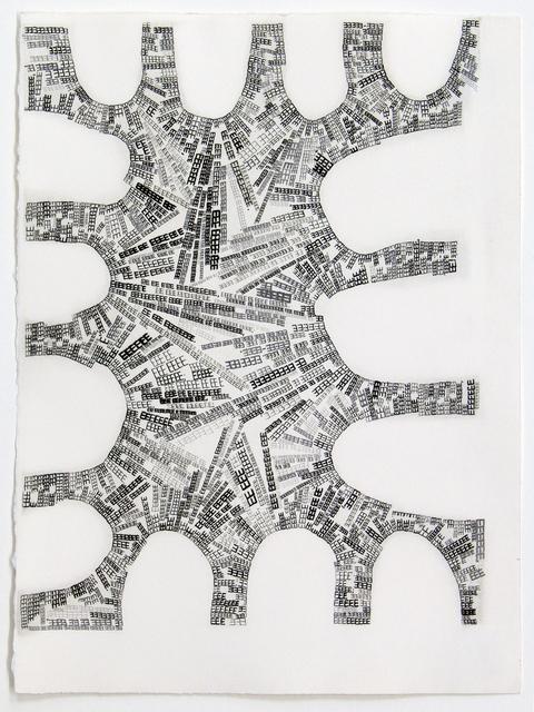 , 'Floating Chapter 71 or 5735 Times E,' 2012, Manneken Press