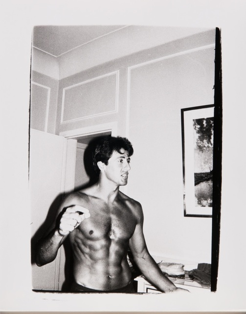 , 'Andy Warhol, Polaroid Photograph of Sylvester Stallone, circa 1980,' ca. 1980, Hedges Projects