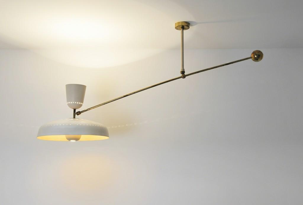 Pierre guariche ceiling light g1 pl 1951 galerie pascal cuisinier