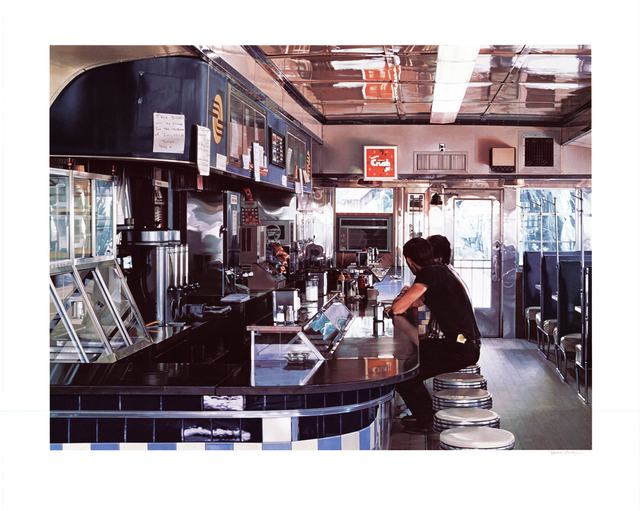 Ralph Goings, 'Blue Diner', 1995, ArtWise