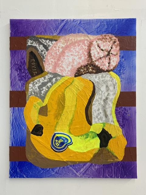 Royal Jarmon, 'Banana On Fire Escape', 2019, Painting, Acrylic on Canvas, The Garage Amsterdam