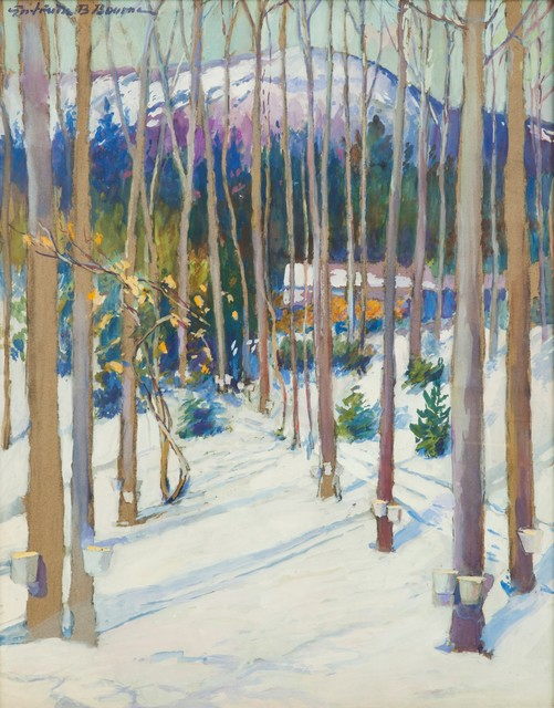, 'Mt. Monadnock and Maple Grove,' ca. 1925, Childs Gallery