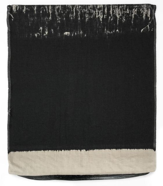 , 'Pressed Paint (Mars Black),' 2017, Gemini G.E.L.