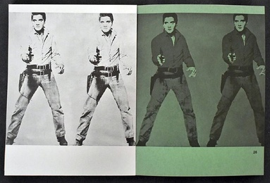 Rare 1st Edition Catalogue for Andy Warhol's First Museum Show - Institute of Contemporary Art, Philadelphia