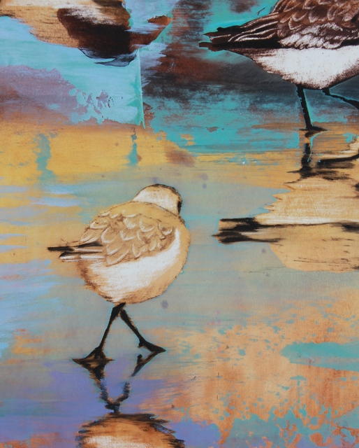 , 'Dancing Plover,' 2017, Seager Gray Gallery