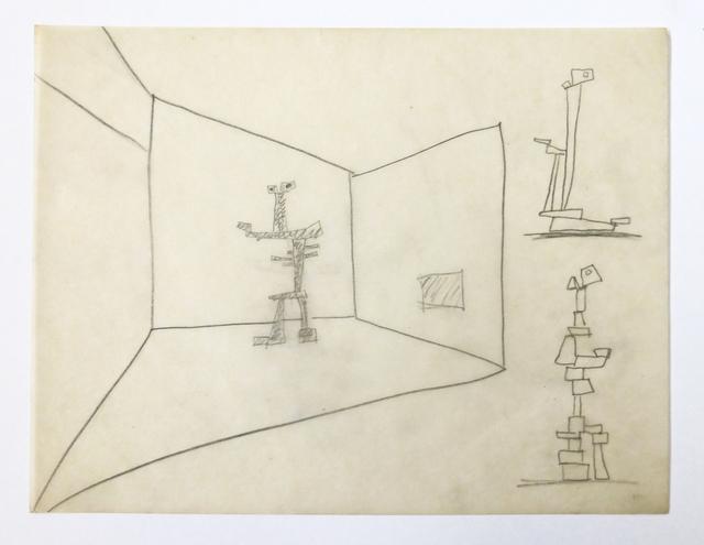 , 'Untitled,' ca. 1970, Galería La Caja Negra