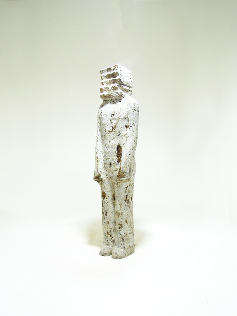 Fernando Pinto, 'Candidate Podium  ', 2018, Sculpture, Travertine marble, Ministry of Nomads