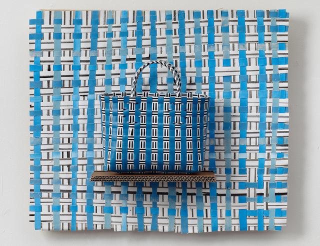 , 'Handbag (Blue),' 2015, Laure Genillard