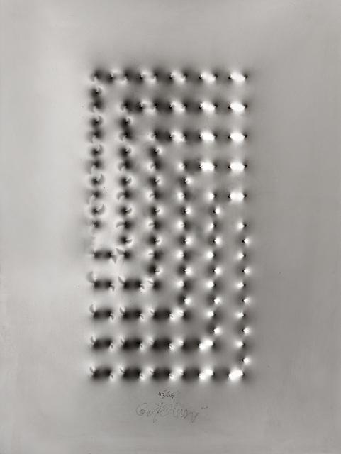 "Enrico Castellani, '""Estroflexion""', 2008, Il Ponte"