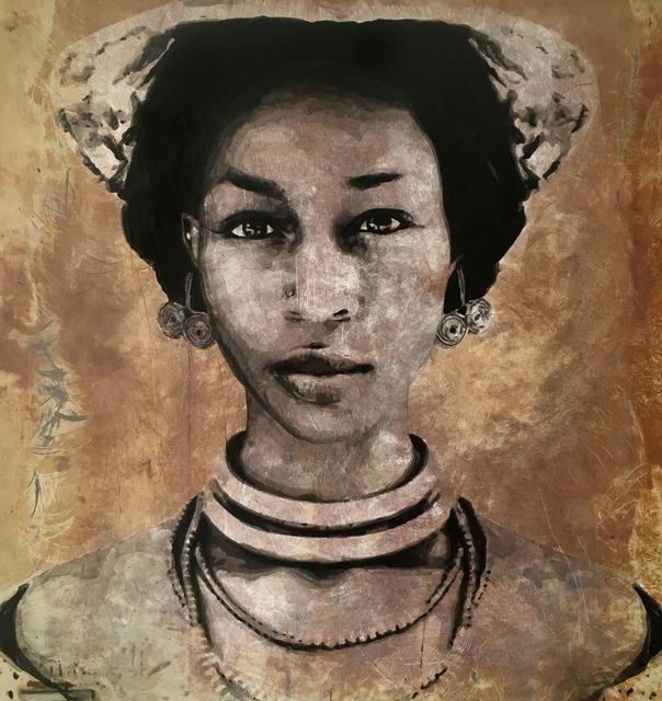 , 'Mariam, Abobo,' 2018, LouiSimone Guirandou Gallery