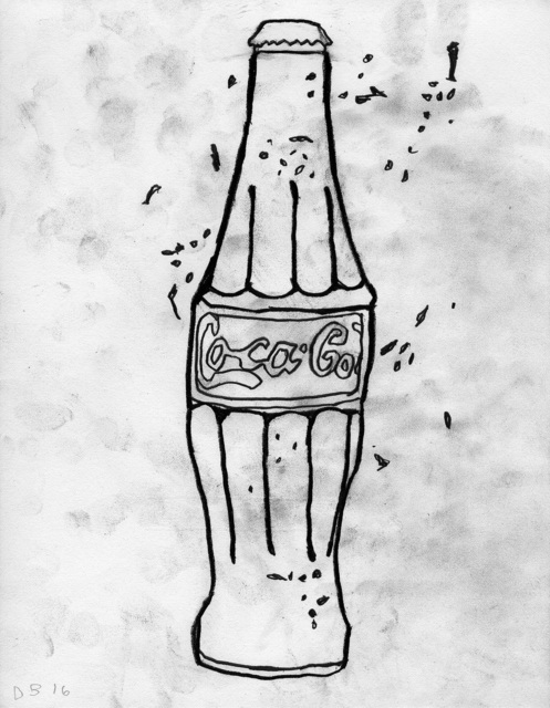 , ''Coke Bottle',' 2016, Alex Daniels - Reflex Amsterdam