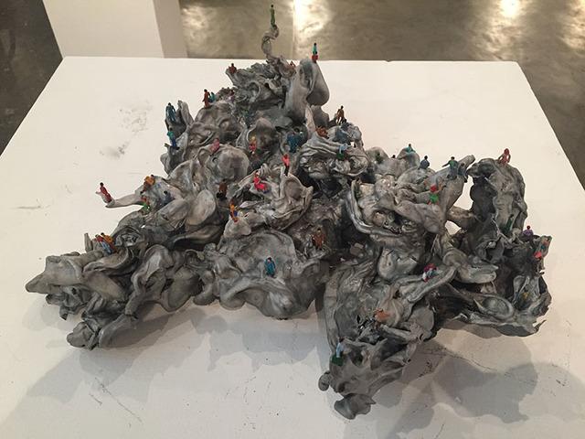 , 'Bonecos,' , Baró Galeria