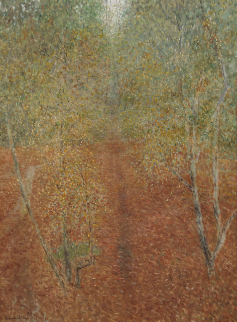 Richard Eurich, 'Early autumn, New Forest', 1984, Waterhouse & Dodd