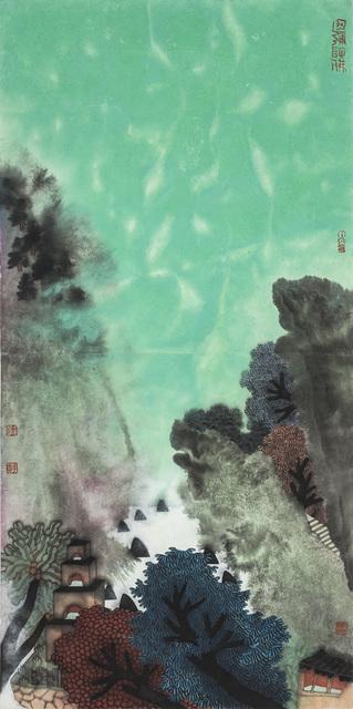 Guo Huawei, 2014, Painting, Ode to Art