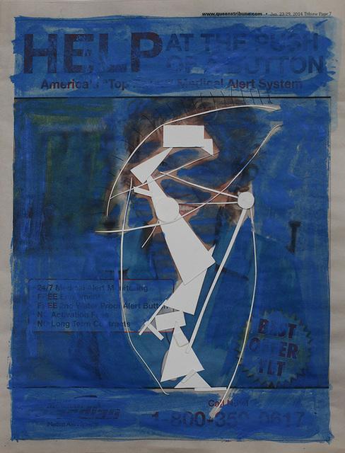 , 'Sketch,' 2014, MadeIn Gallery