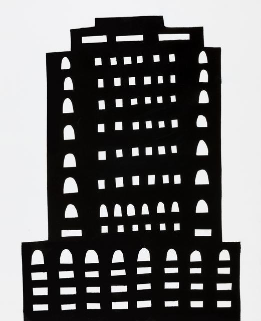 , 'NIGHT BUILDING 14,' 2018, Elizabeth Harris Gallery
