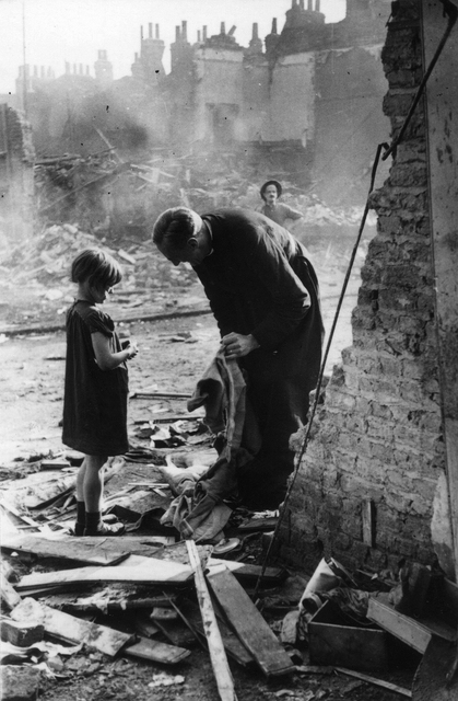 , 'Life of an East End Parson, London,' 1940, The Photographers' Gallery