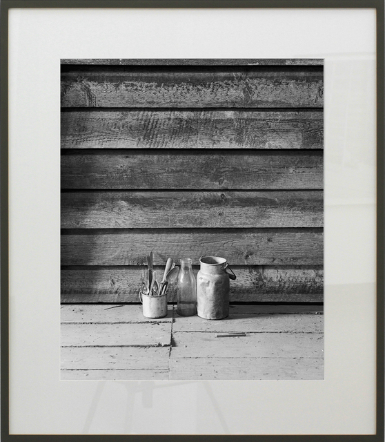 , 'Bottle, Flatware and Pitcher,' 2011, SCHEUBLEIN + BAK