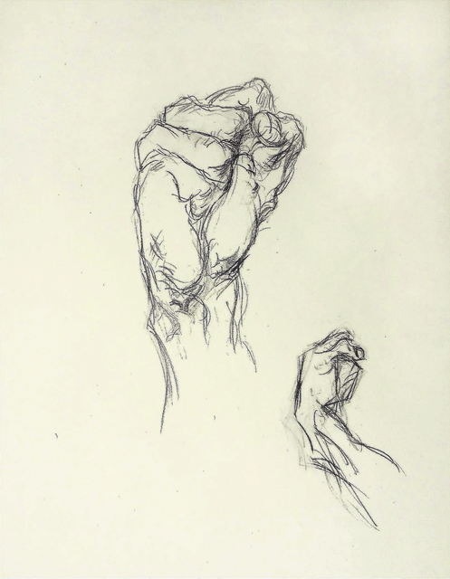 """Alfred R Kelman, '""""The First & Wrist"""" Textbook Class Exercise', N/A, Kate Oh Gallery"""