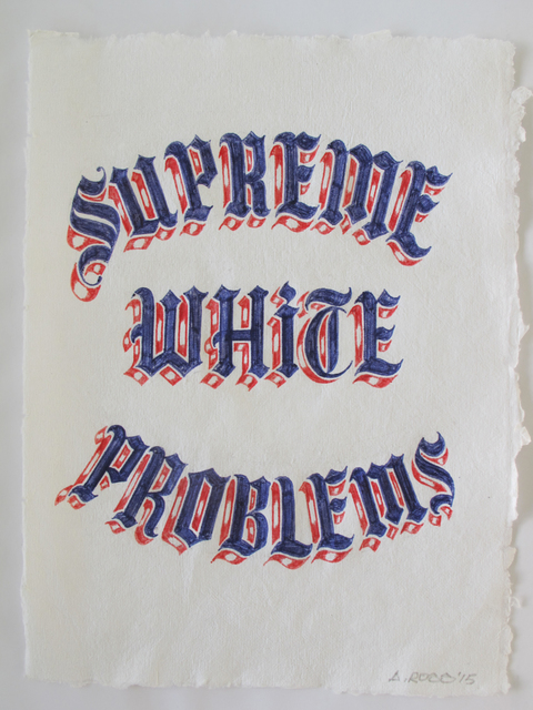Alexis Ross, 'Supreme White Problems', 2015, V1 Gallery