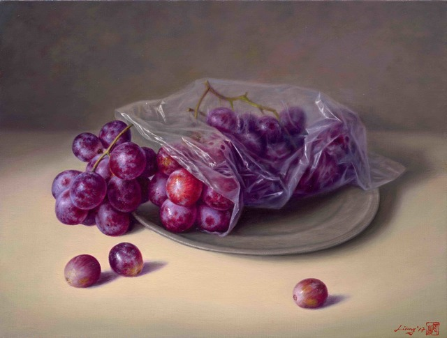 , 'Grapes,' 2017, East Gallery