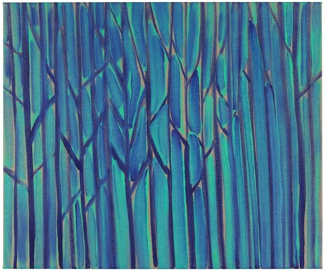 , 'Blue-green Forest,' 2013, Galerie Martin Janda