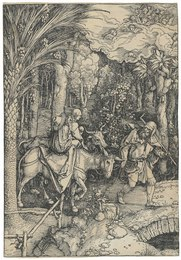The Flight into Egypt, from: The Life of the Virgin