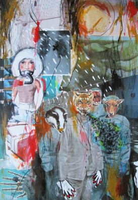 , 'wall of memories, 05,' 2016, Artdepot