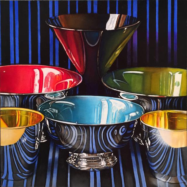 , 'Bowls,' 2019, M.A. Doran Gallery