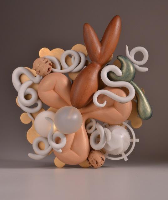 """, '""""Trilobe"""" brooch,' 2013, Gallery Loupe"""