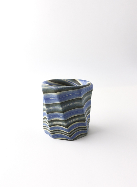 Ogata Kamio, 'Neriage (marbleized) lid rest', 2017, Ippodo Gallery
