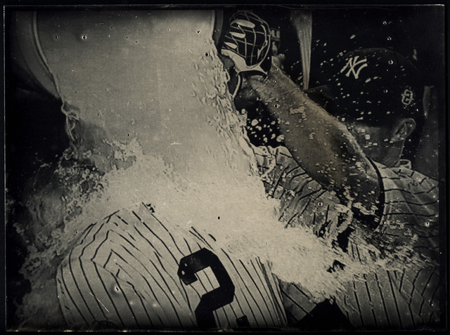 , 'Derek Jeter, Last Home Run Ever in Yankee Stadium, Tintype 1582,' 2014, Aperture Foundation