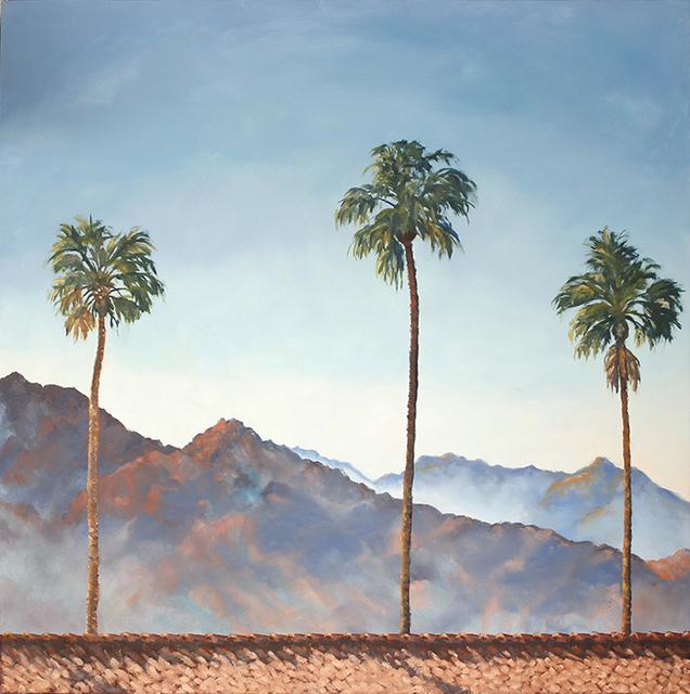 , 'Palm Trio,' 2018, Joshua Tree Art Gallery
