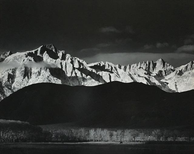 , 'Winter Sunrise, Sierra Nevada, from Lone Pine, CA,' 1944, Jackson Fine Art