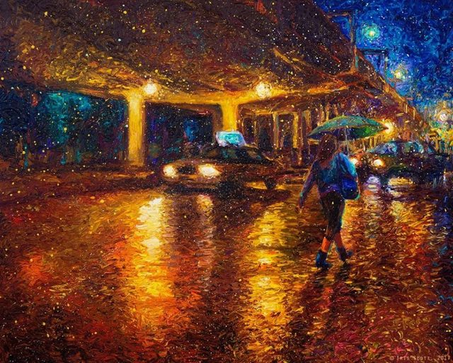 , 'Midnight In Gawanus,' 2017, Adelman Fine Art