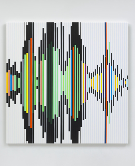 , 'Reality is its own Ideology [Sound Graph],' 2019, White Cube