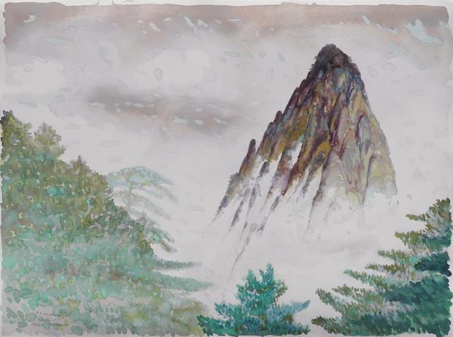 , 'Yellow Mountain, China,' 1990, Charles Nodrum Gallery