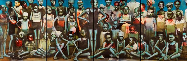 , 'Harlem Swimming Team 1927,' 2015, Hudson Milliner Art Salon